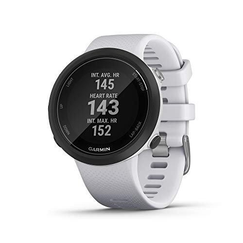 Garmin Swim 2, GPS Swimming Smartwatch -White- (010-02247-01)