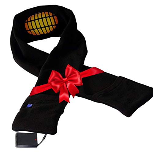 Heated Scarf with Neck Heating Pad