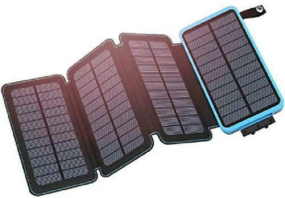Hiluckey Solar Charger 25000Mah Portable Solar Power Bank ...