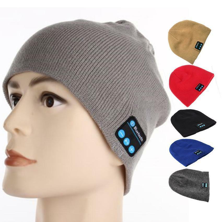 Hotsell Beanie Hat Wireless Bluetooth Smart Cap Headphone ...