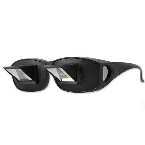 Lazy Prism Eye Glasses Lying Down Bed Horizontal Spectacles Horizontal Glasses for Watching TV and Reading