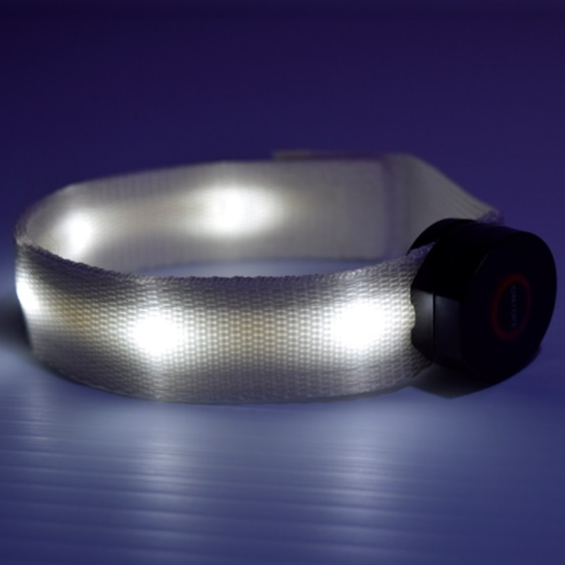 LED Light up multicolor safety Armband | Eternity LED
