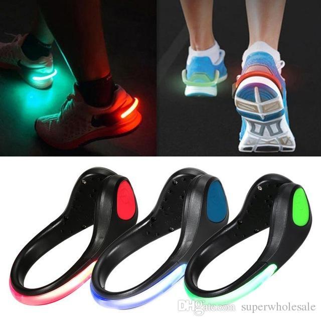 Led Luminous Shoe Light Clip Light Up Led Shoe Clips Night ...