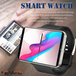 LEMFO LEM T 4G 2.86 Inch Screen Smart Watch Android 7.1 ...