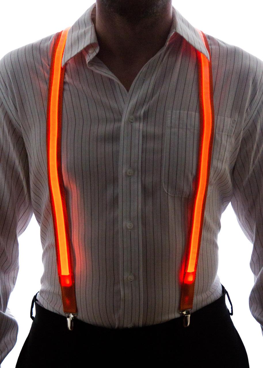 Light Up Suspenders - Neon Nightlife