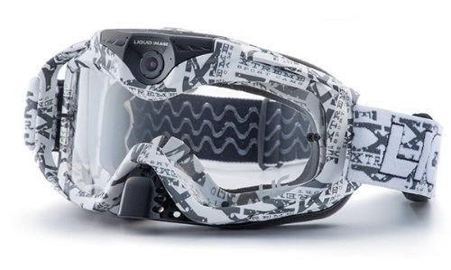 Liquid Image Torque 368 W Series Offroad Goggle Camera Water Resistant Video Camera with .5-Inch LCD (White)