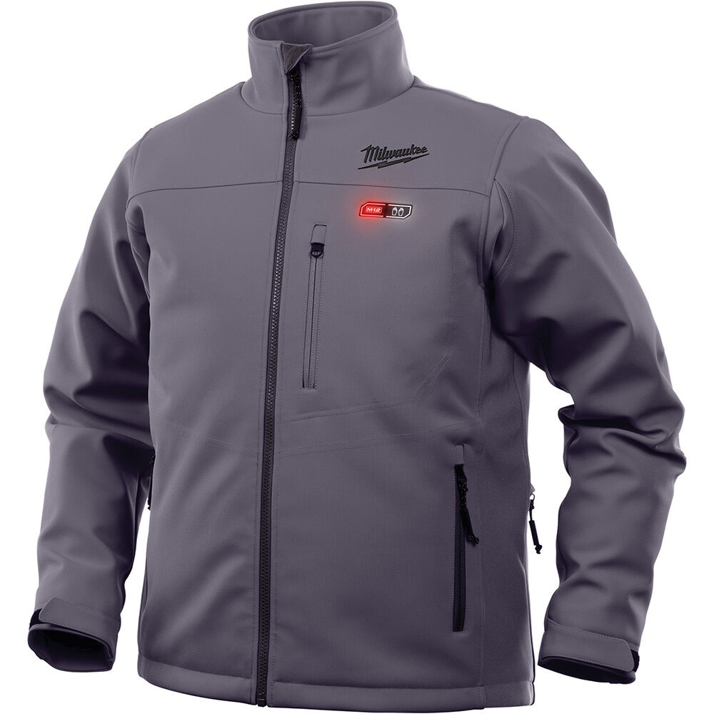 Milwaukee 201G-20L M12 Heated Jacket Only - Gray, Large | eBay