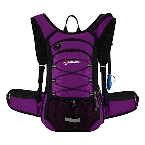 MIRACOL Hydration Backpack 2L - BLUE VIOLET