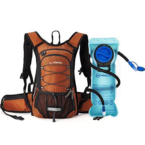 MIRACOL Hydration Backpack 2L - DARK ORANGE