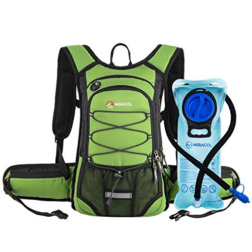 MIRACOL Hydration Backpack 2L - GRASS GREEN