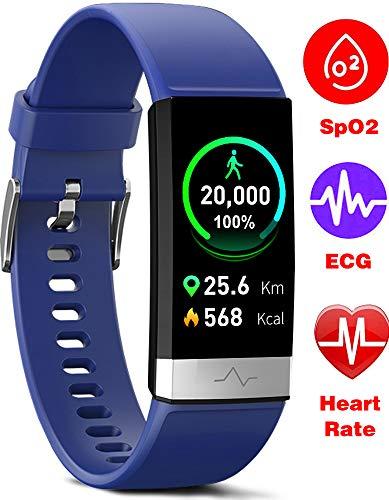 MorePro Fitness Tracker HRV - Blue