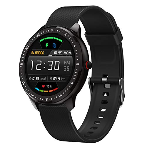 N58 DoSmarter Smart Fitness Watch - Silicone Watchband/Black