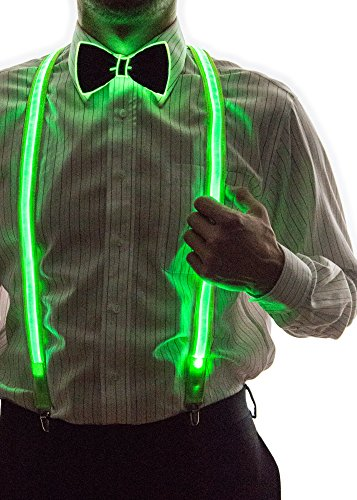 Neon Nightlife Light Up Bow Tie, One Size - Buy Online in ...