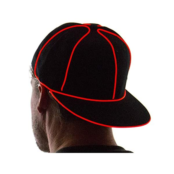 NEON NIGHTLIFE Light Up Snapback Hat