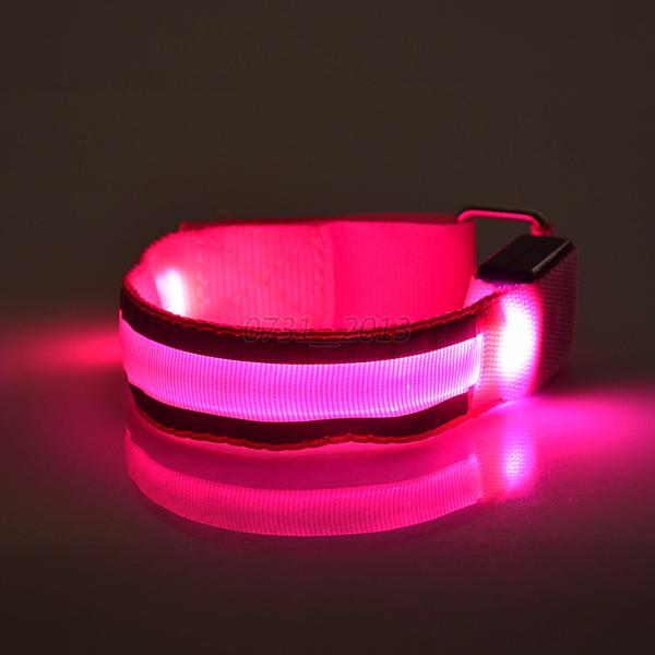 Newest LED Flishlight Arm Band Safety Reflective Belt ...