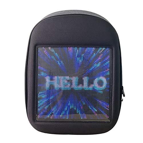 Novel Smart LED Backpack Cool Black