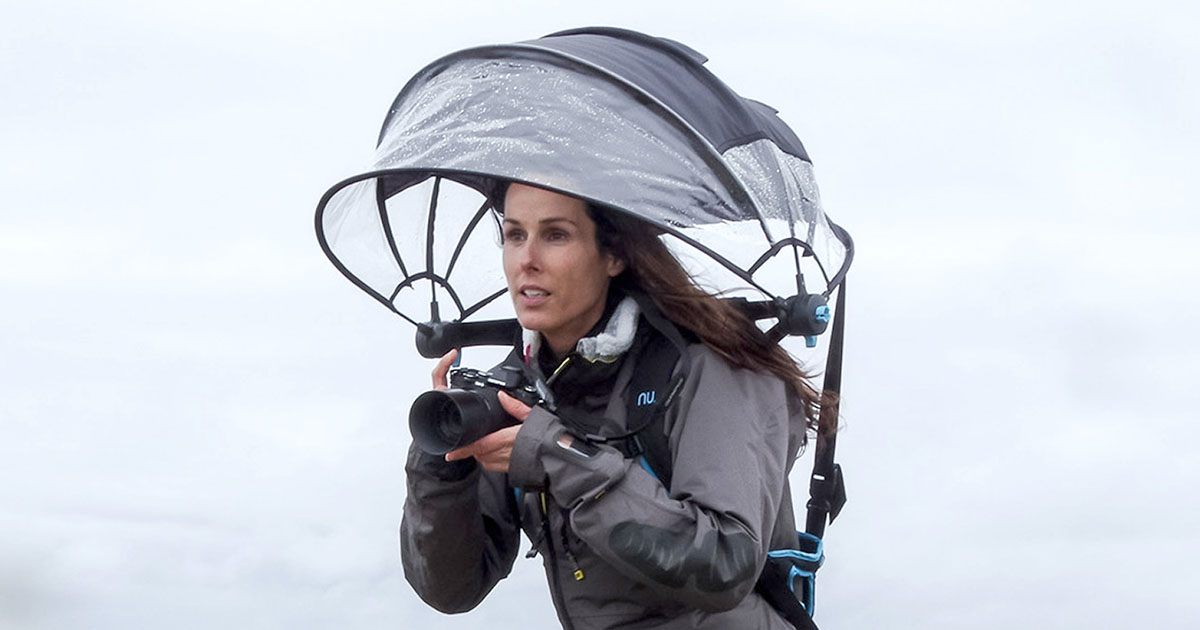 Nubrella is a Hands-Free Umbrella That Can Keep Your ...