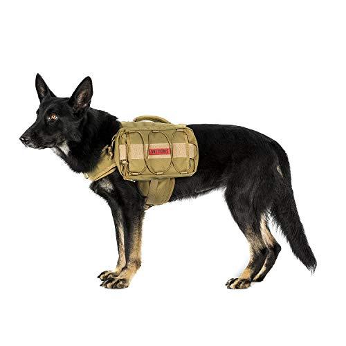 OneTigris Dog Backpack - BROWN