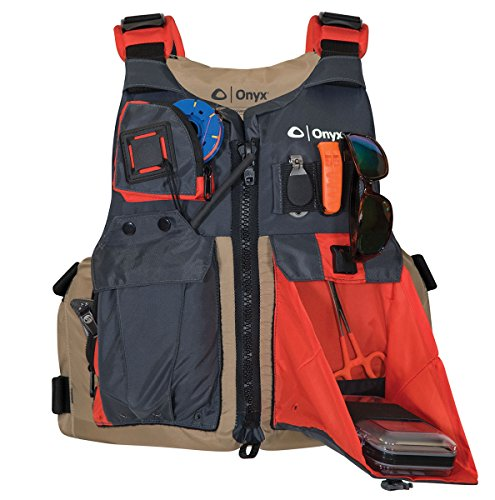 ONYX Kayak Fishing Life Jacket Oversize Tan   eBay
