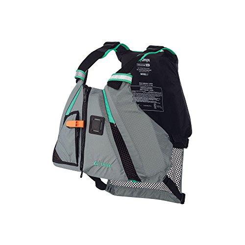 ONYX MoveVent Dynamic Paddle Sports Life Vest, X-Large/XX-Large, Aqua