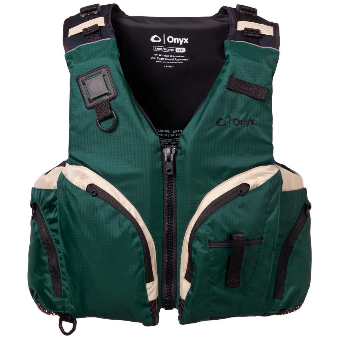 Onyx® Pike Paddle Sports / Kayak Fishing Life Vest ...