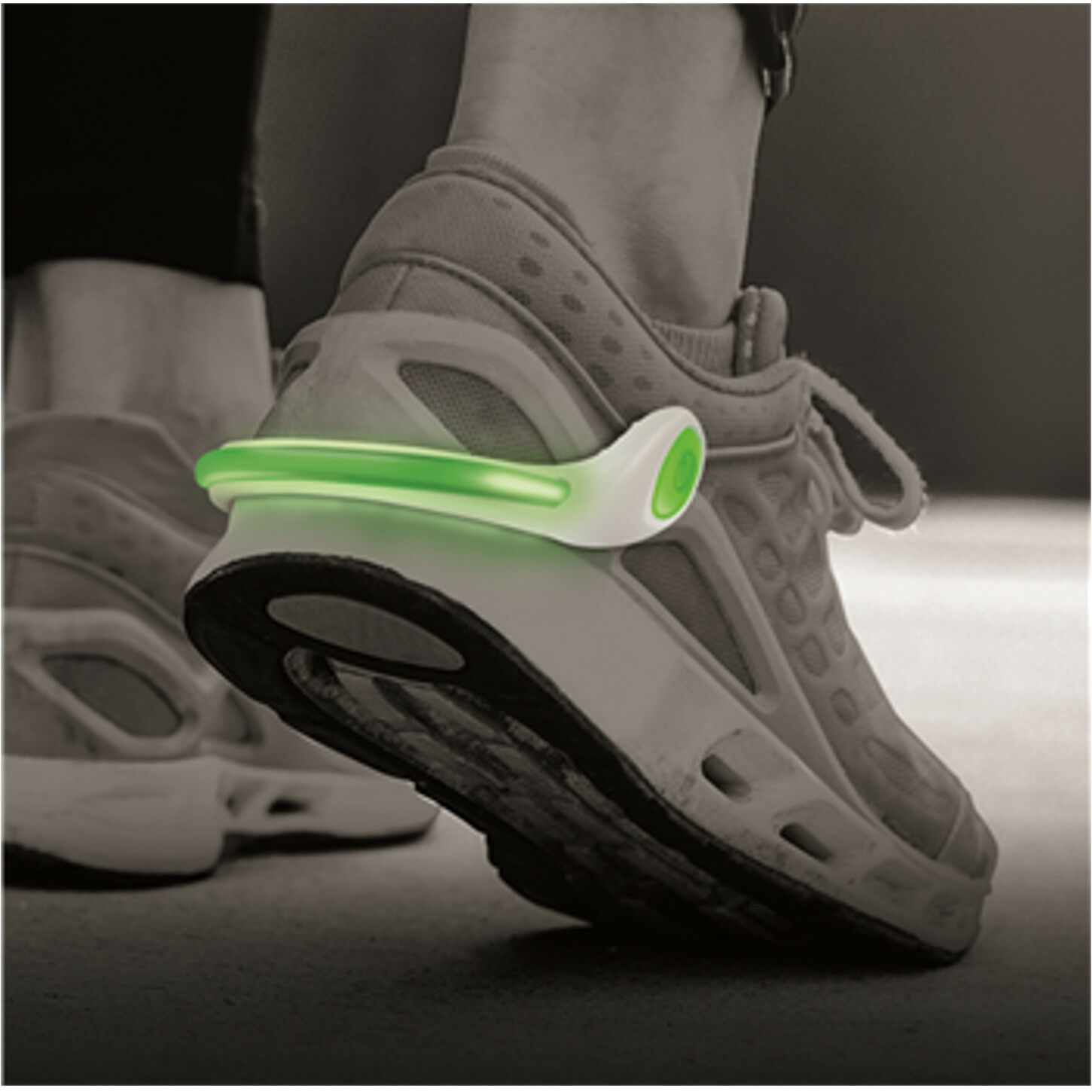 Outdoor Safety Shoe Light Clip Bright Luminous LED Running ...