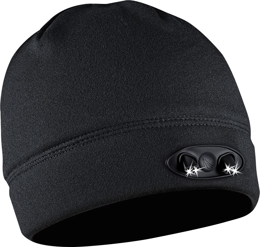 Panther Vision - POWERCAP 35/55 Lined Fleece Beanie - Black