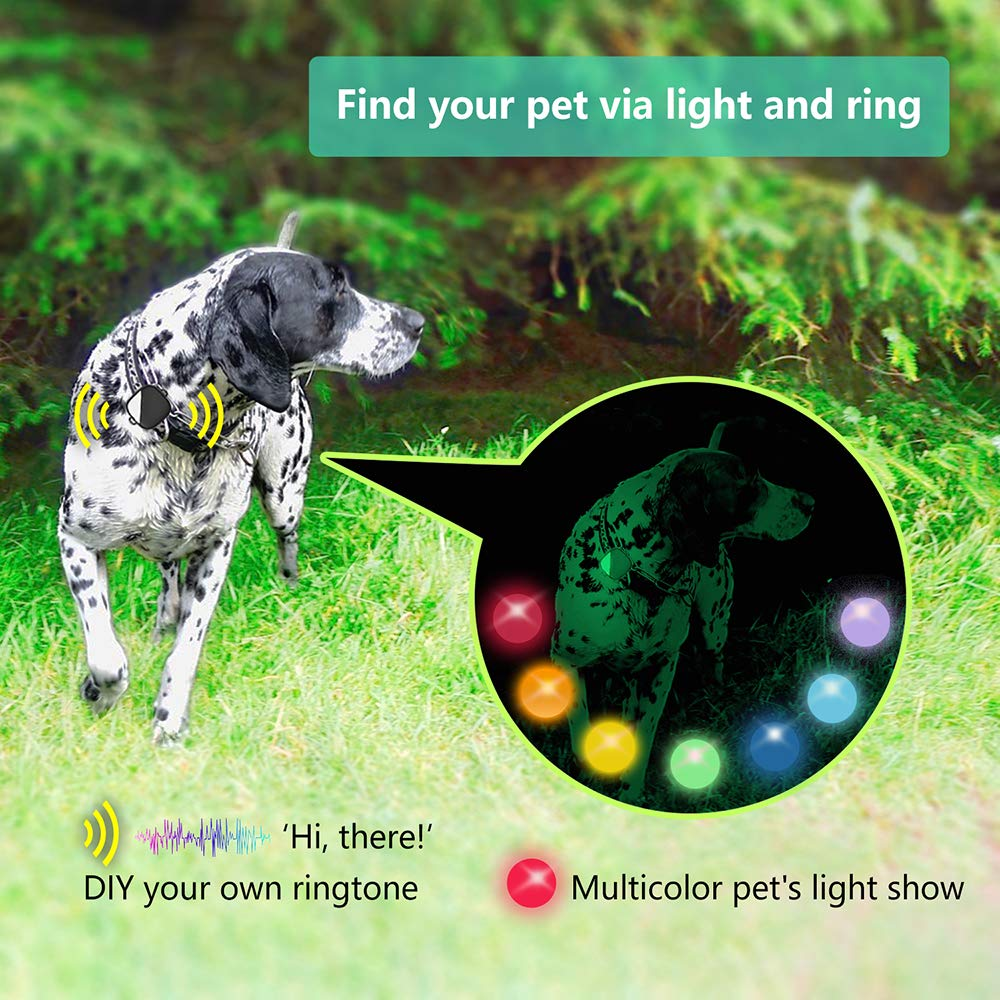 PETFON Pet GPS Tracker for 1-3 Dogs Pets,No Monthly Fee ...