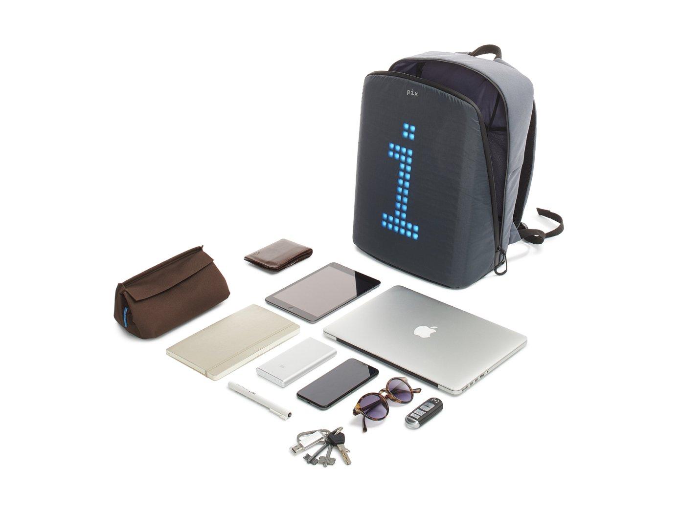 Pix Digital Customizable Backpack – oh that tech