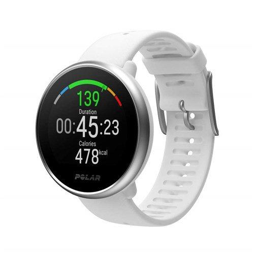 Polar Ignite Advanced Multisport Watch White/Silver (Small)