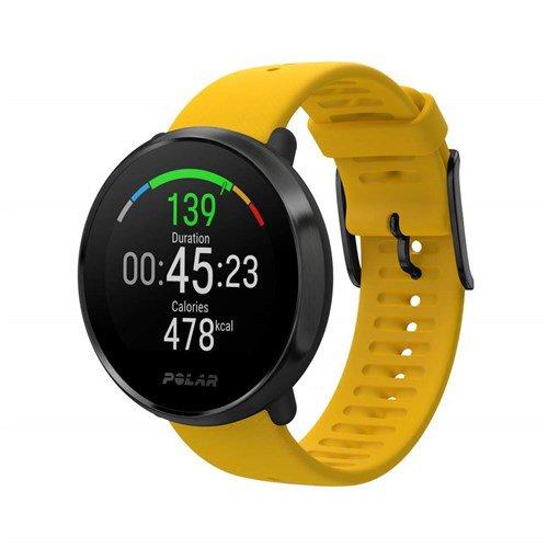 Polar Ignite Advanced Multisport Watch Yellow/Black (M/L)