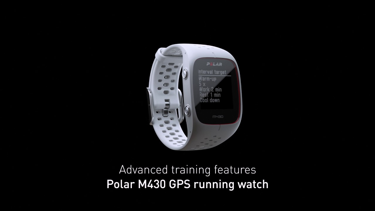 Polar M430 – Advanced GPS running watch - YouTube