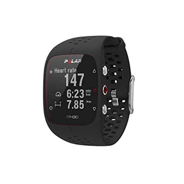 Polar M430 GPS Running Watch -Black, Medium/Large - (725882041247)