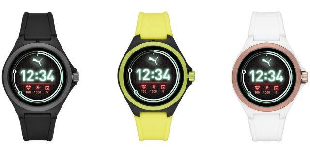 Puma debuts their first Wear OS smartwatch