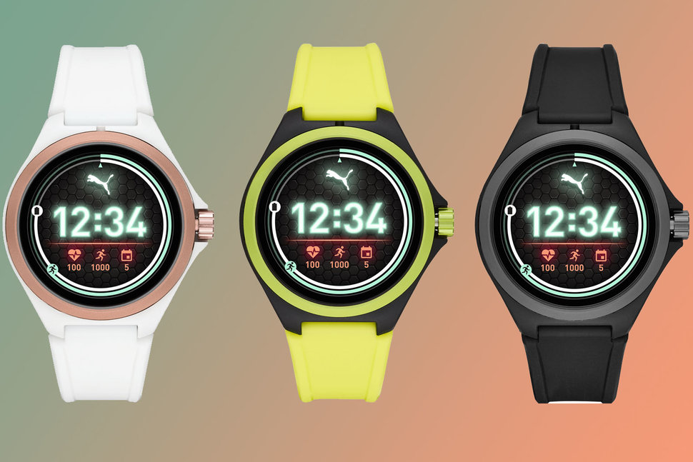 Puma launches its first smartwatch with heart rate, built ...
