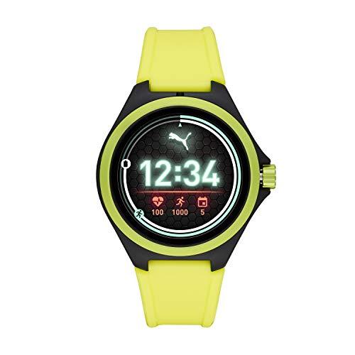 PUMA Sport 44mm - Neon Yellow Silicone Band