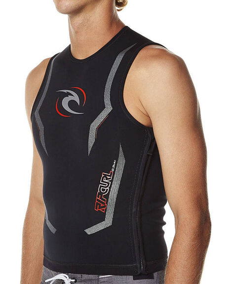 Rip Curl H-Bomb Heated Vest - Black | SurfStitch