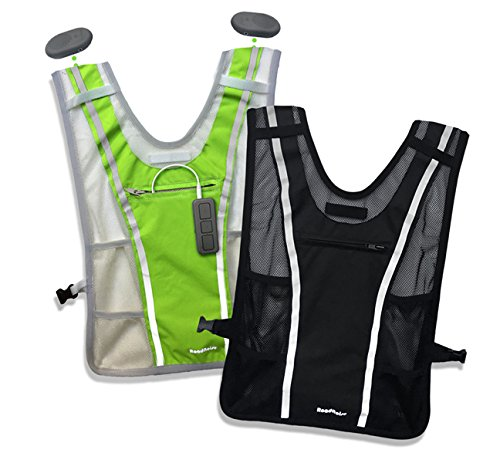 Roadnoise Long Haul Vest (Hi Vis Green, X-Small/Small)