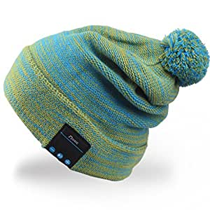Rotibox Bluetooth Beanie Hat Pom Pom Music Cap with ...