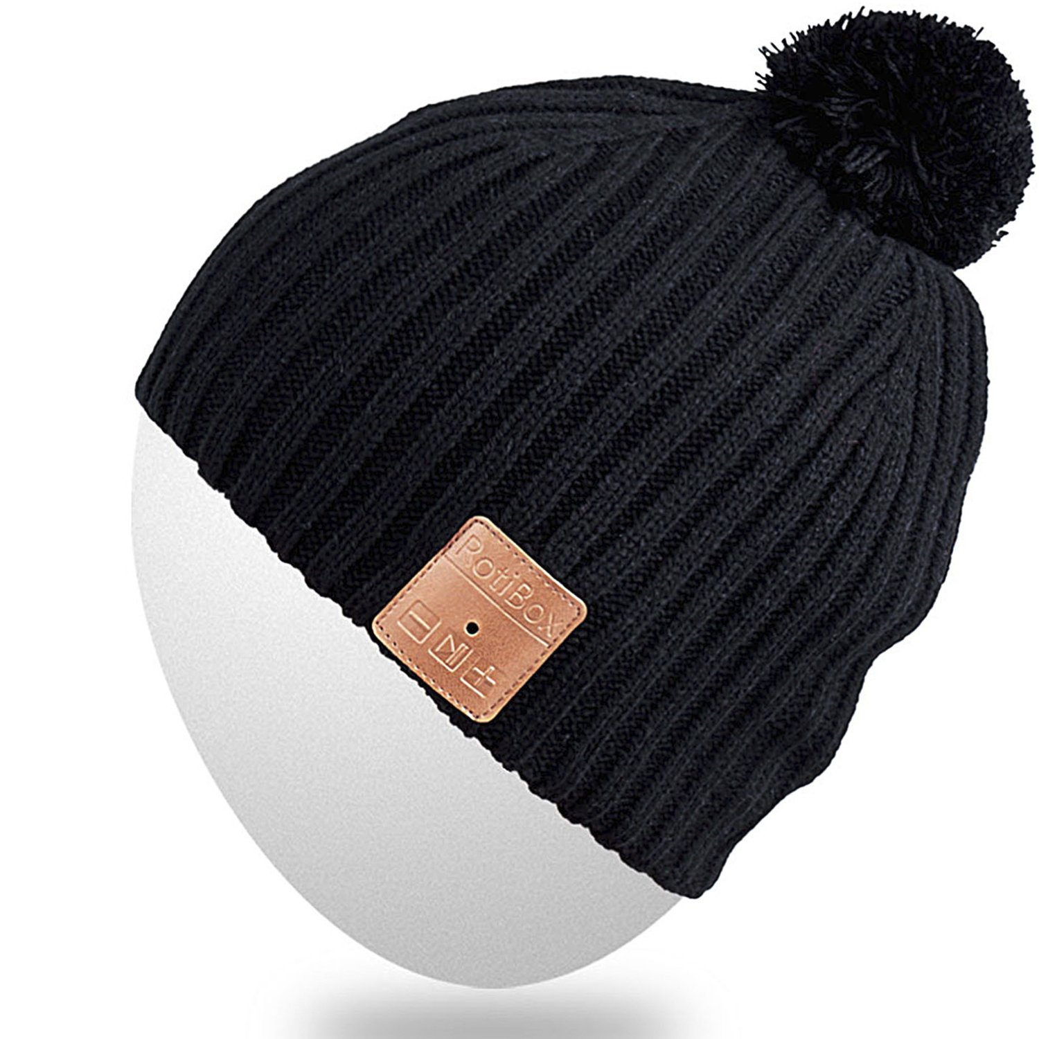 Rotibox Bluetooth Beanie Hat, Winter Outdoor Sport Knit ...