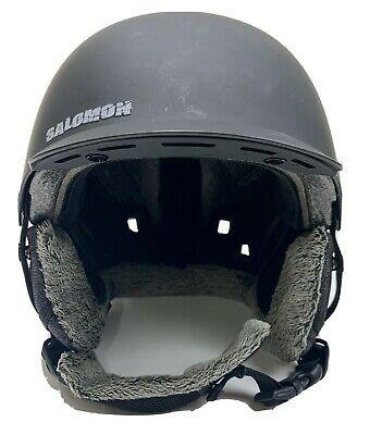 Salomon BRIGADE Audio Adjustable Freeride Ski Snowboard Audio Helmet, XS 54-55CM
