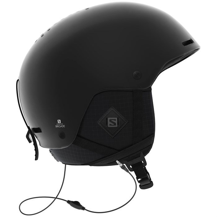 Salomon Brigade+ Audio Helmet | evo