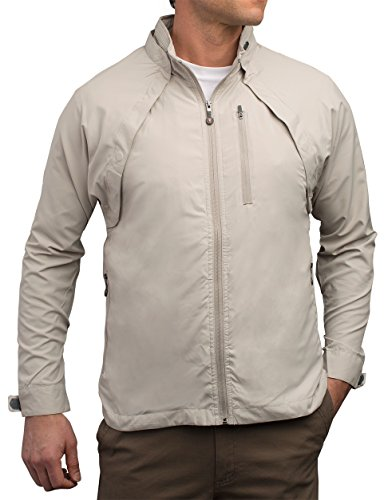 SCOTTeVEST Tropiformer Jacket - CEMENT