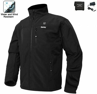 Smarkey Cordless Heated Jacket Carbon Fiber Electric Heating Clothing Male Jacke