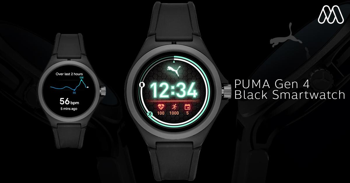 Smartwatch เรือนแรกของ PUMA เป็นอุปกรณ์ที่ผสมผสานอย่างลง ...