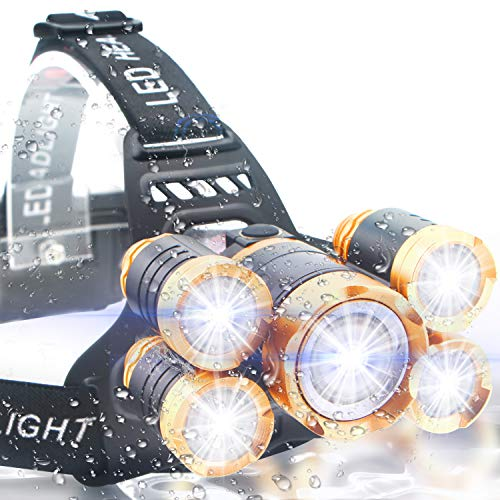 Soft Digits Headlamp, 5 LED Headlight