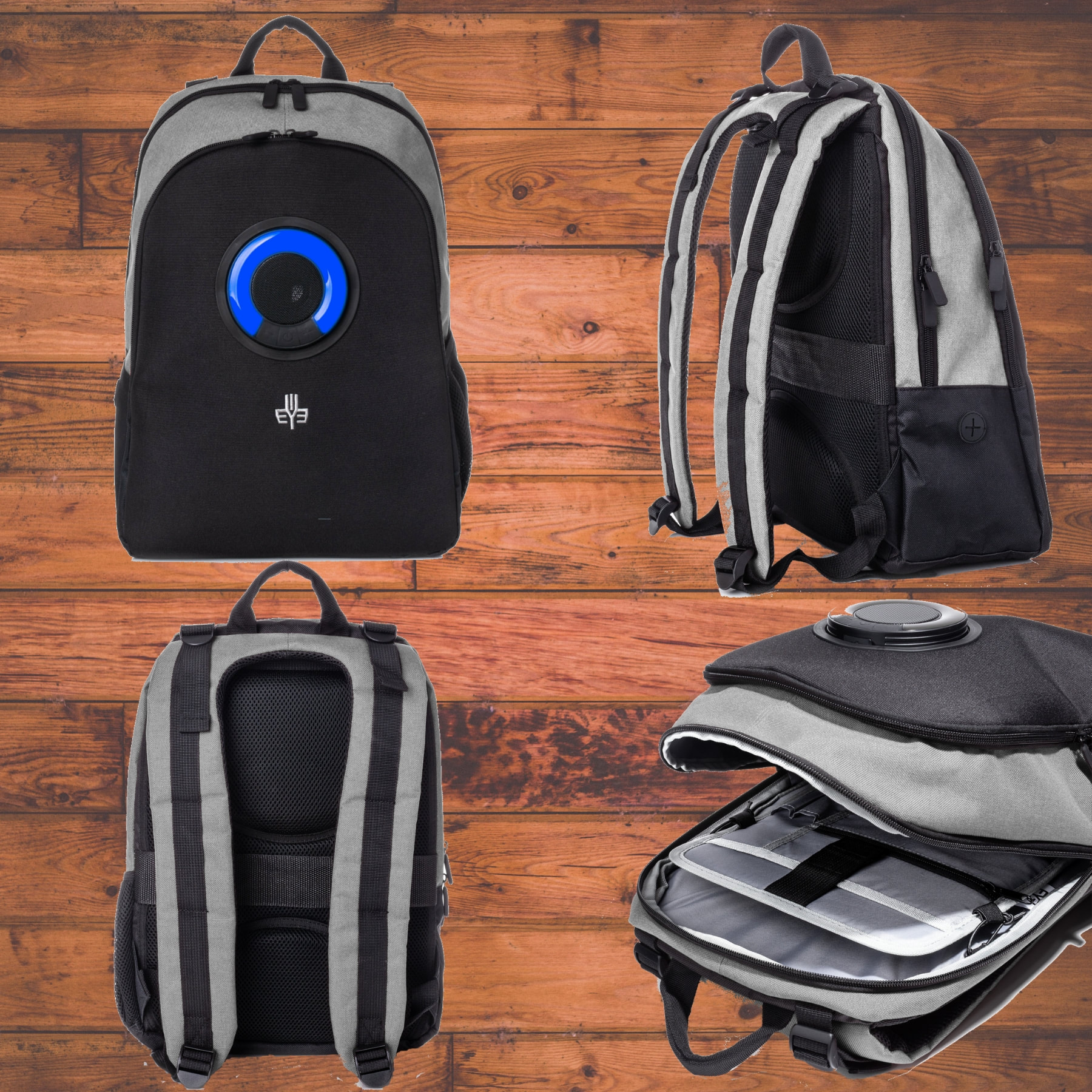 South beach Bubbles Backpack with Detachable Bluetooth ...