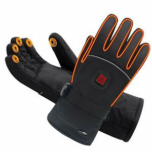 Spring Heated Gloves with Rechargeable Battery Heated for ...