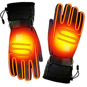 SPRING Rechargeable Electric Heated Gloves,Touchscreen ...