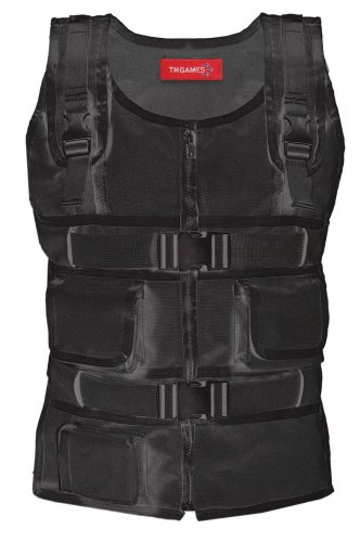 SUBPAC S2 Alternative - TN Games 3rd Space Gaming Vest - Camo - S/M